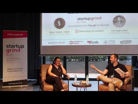 Başak Taşpınar Değim (Armut.com) Ve Can Kağıtçıbaşı - Startup Grind