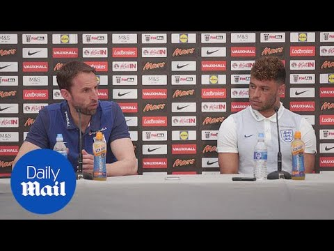 Gareth Southgate and Oxlade-Chamberlain preview France clash - Daily Mail