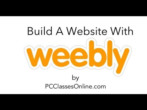 Build Website With Weebly