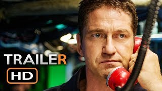 HUNTER KILLER Official Trailer 2 (2018) Gerard Butler Action Movie HD