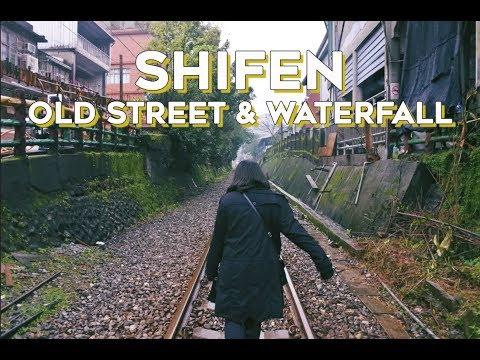 TAIWAN VLOG | Day 2: Shifen Old Street & Waterfall