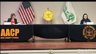 NAACP of Kankakee County Kankakee City Clerk Candidates' Forum 2021