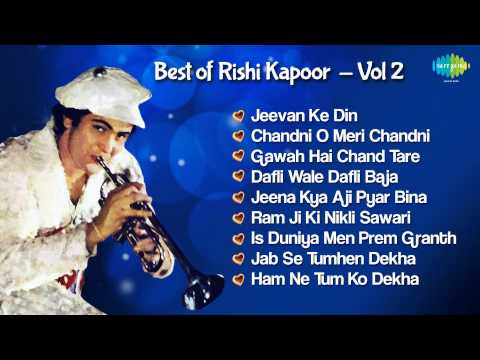 Rishi Kapoor Hit Sgs  Superhit Hindi Sgs Jukebox  Chandni O Meri Chandni & More Hits