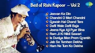 Rishi Kapoor Hit Songs - Superhit Hindi Songs Jukebox - Chandni O Meri Chandni & More Hits