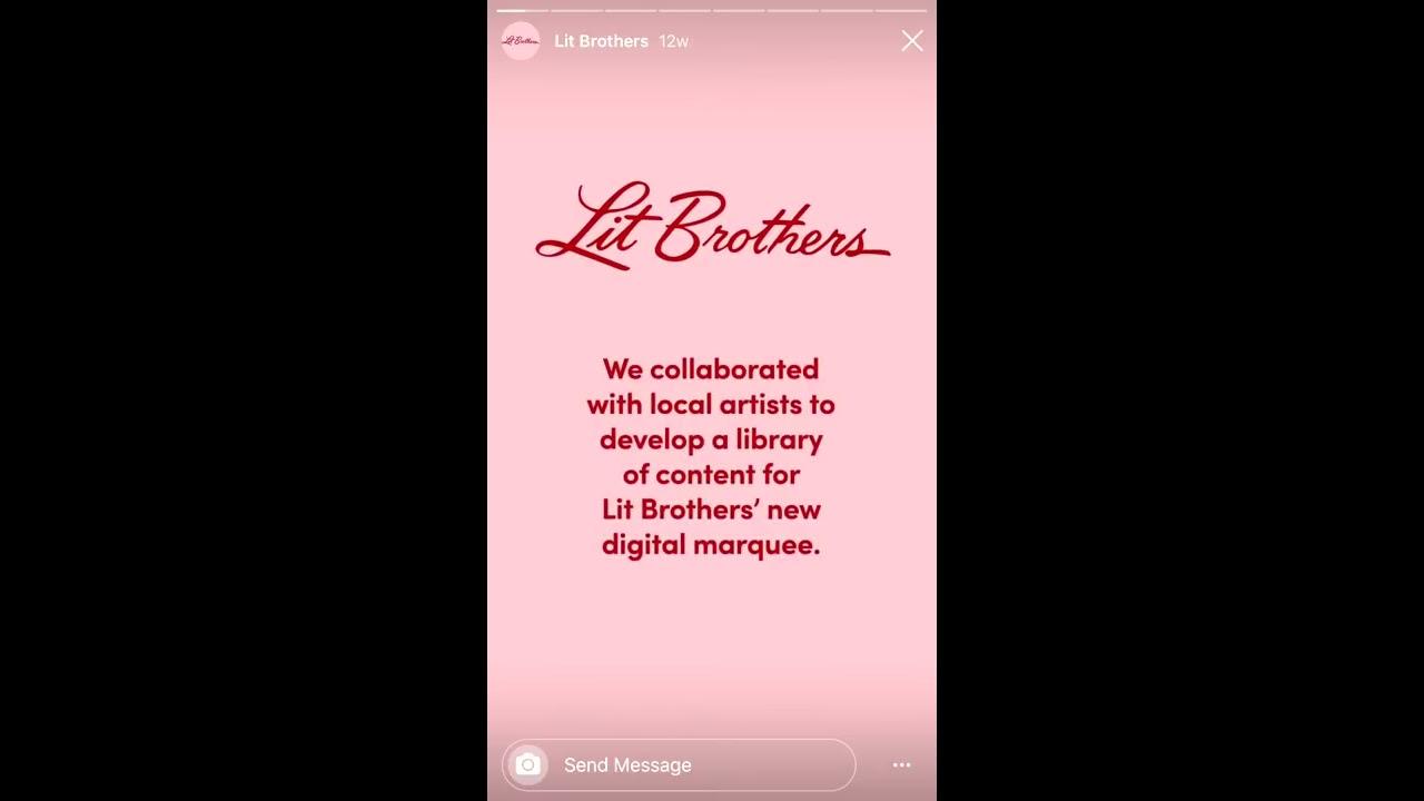 Social Media Portfolio - Lit Bros