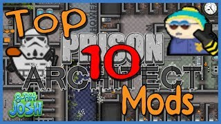 Prison Architect - TOP 10 MODS 2018!