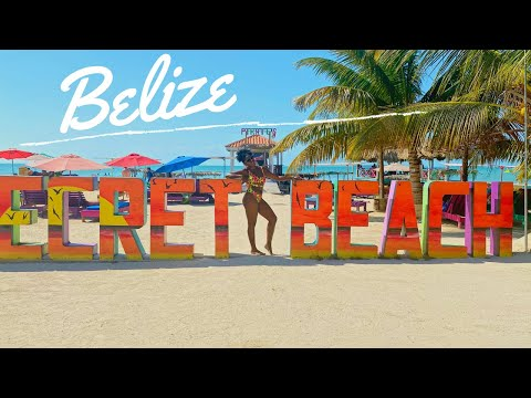 TRAVEL VLOG | BELIZE | Vacation With Me | San Pedro 🇧🇿 | Secret Beach | Flight Attendant Vlogger