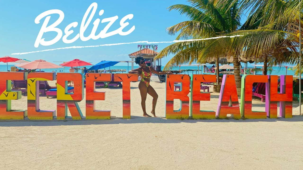 Come To BELIZE With Me! | Vacation With Me | San Pedro 🇧🇿 | Secret Beach | Flight Attendant Vlogger