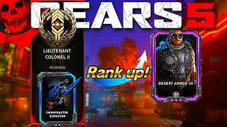 HOW TO RANK UP FAST | IN TOUR OF DUTY | Gears Of War 5