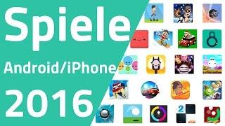 Die besten Spiele Apps 2016 für Android & iPhone