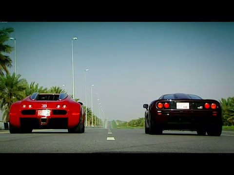 Bugatti Veyron vs McLaren F1 - Top Gear - The Stig - BBC