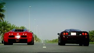 Bugatti Veyron Vs. McLaren F1 | The Stig | Top Gear