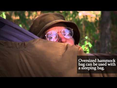 Four Dog Sleeping Bag System Hammock Combi   Four Dog Stove Company