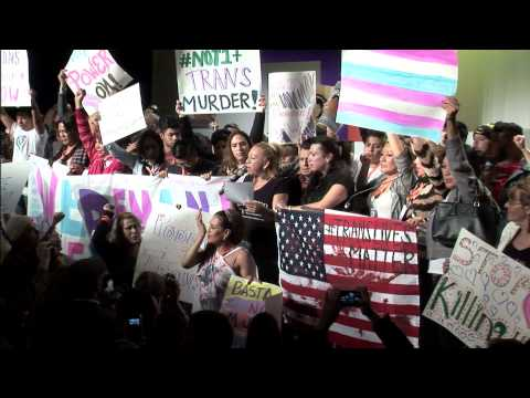 Activists Rally for Trans Women and Against Police Killing