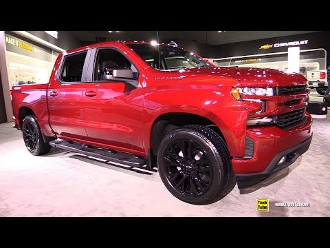 2019 Chevrolet Silverado RST - Exterior and Interior Walkaround - 2018 LA Auto Show