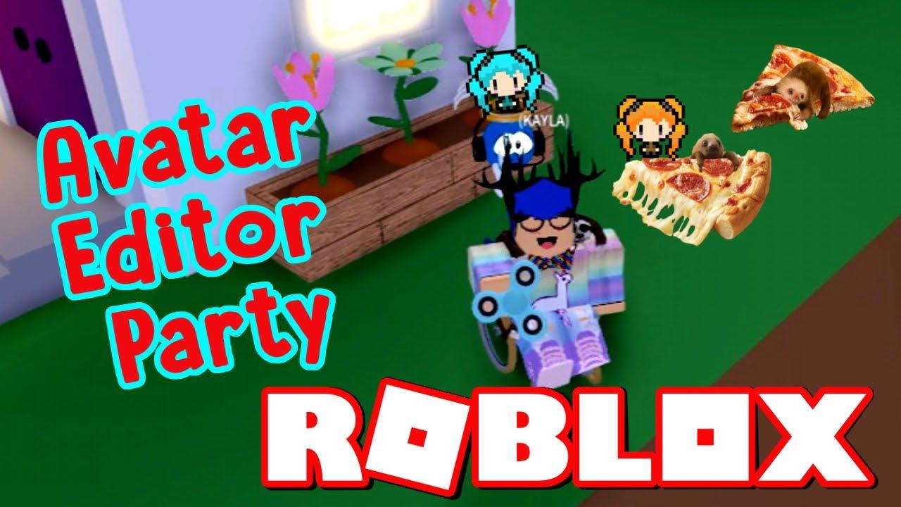 Meep City Avatar Editor Party Huntrys Sloth Pizza Roblox