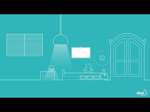 komfort der mitw chst kinderleichte bedienung mit enet smart home youtube. Black Bedroom Furniture Sets. Home Design Ideas
