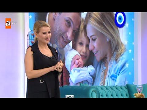 Esra Erol'un Bebeği Ömer Erol'un Ilk Görüntüleri - Esra Erol