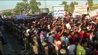 تواصل المظاهرات الاحتجاجية في البصرة