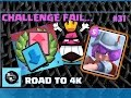 CAN WE MAKE IT?! - Clash Royale Road to 4k #31
