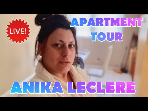 APARTMENT TOUR LIVE | ANIKA LECLERE