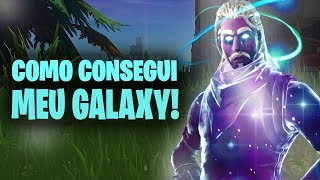 HOW to GET FREE the SKIN of the GALAXY! -Fortnite