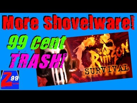 Crimson Survival - More Toxic 99 Cent TRASH On Steam Made For Key Reselling Websites!