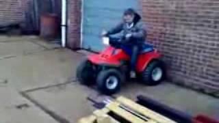 Quad Unfall - Idiot