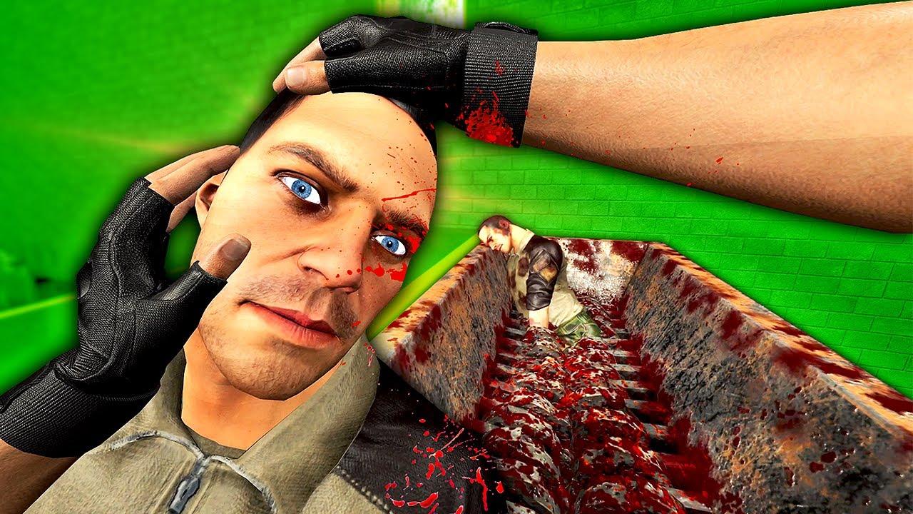Throwing RAGDOLLS Into a MEAT GRINDER - Hard Bullet VR Gameplay