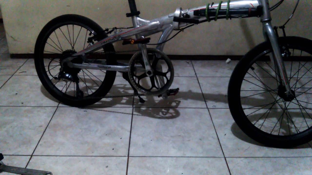 Upgrade crank sepeda lipat , gampang!! Cuma 10 menit YouTube