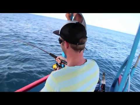 Fishing Indonesia - Gili Islands - Mahi Mahi (Dorado) angeln Indonesien Golmakrele Mahi Mahi