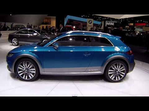 2015 Audi allroad shooting brake at the 2014 NAIAS Detroit Auto Show