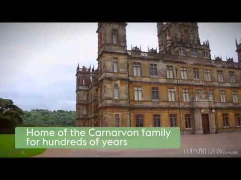 A tour of Highclere Castle, the real-life Downton Abbey