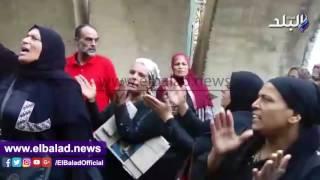 انطلاق مسيرة لأهالي تل العقارب من مجلس الوزراء للتحرير ..فيديو