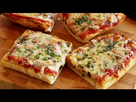 how to make bread pizza easy receipe youtube. Black Bedroom Furniture Sets. Home Design Ideas