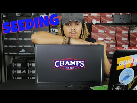 IS BEING GIVEN FREE SHOES BAD ? CHAMPS SPORTS UNBOXING AND DISCUSSION