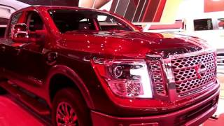 2018 Nissan Titan XD Pro 4X NV1500 Diesel Limited Special First Impression Lookaround Review