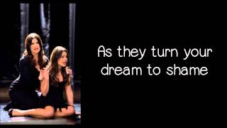 Glee - I Dreamed A Dream (Lyrics) HD