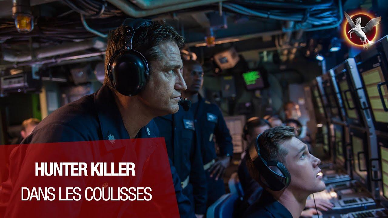 HUNTER KILLER (Gerard Butler, Gary Oldman) - Découvrez les coulisses du film !