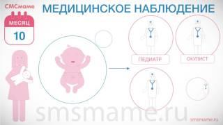 видео 10 месяц - календарь развития ребенка | GidBaby.ru - беременность, роды, развитие ребенка