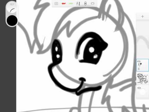 how to draw animal my little pomy 004