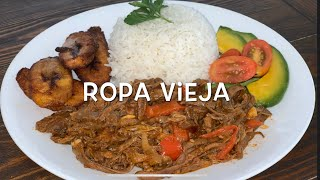 Ropa Vieja  Cuban Style Shredded Beef with Sofrito