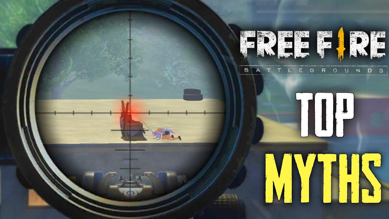 Top Mythbusters in FREEFIRE Battleground | FREEFIRE Myths #147