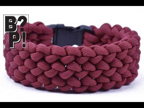 """How to Make the """"Conquistador"""" Paracord Bracelet  - BoredParacord.com DIY"""
