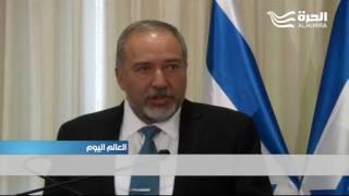 افيغدور ليبرمان وزير للدفاع في إسرائيل يتعهد باتباع ما وصفها بسياسة مسؤولة ومتوازنة.