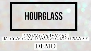 HOURGLASS line dance demo, choreography by Maggie Gallagher & Gary O'Reilly