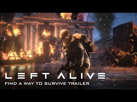 "Left Alive — ""Find a Way to Survive"" Gameplay Trailer"
