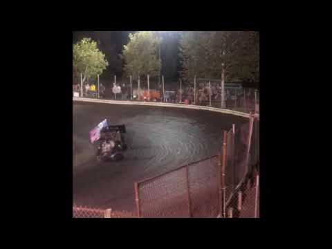 Here is the heat Race that Samuel raced his 250cc outlaw Cage Kart at the Kyle Larson Showcase. - dirt track racing video image
