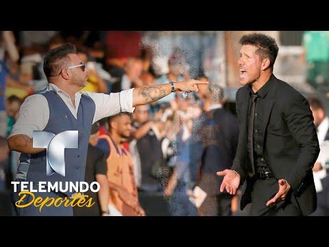 Mohamed da una lecci�n al Atleti de Simeone   La Liga   Telemundo Deportes