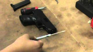 how to remove magazine safety from hi point c9
